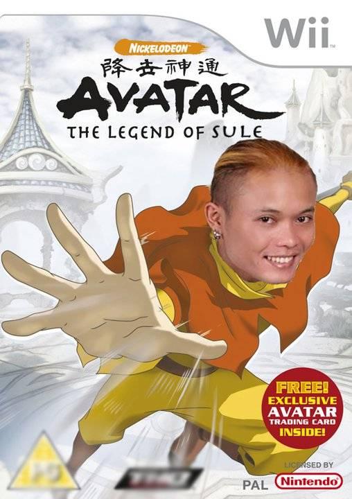 Avatar The Legend Of SUle :D , Beri WOW yah guyz ..