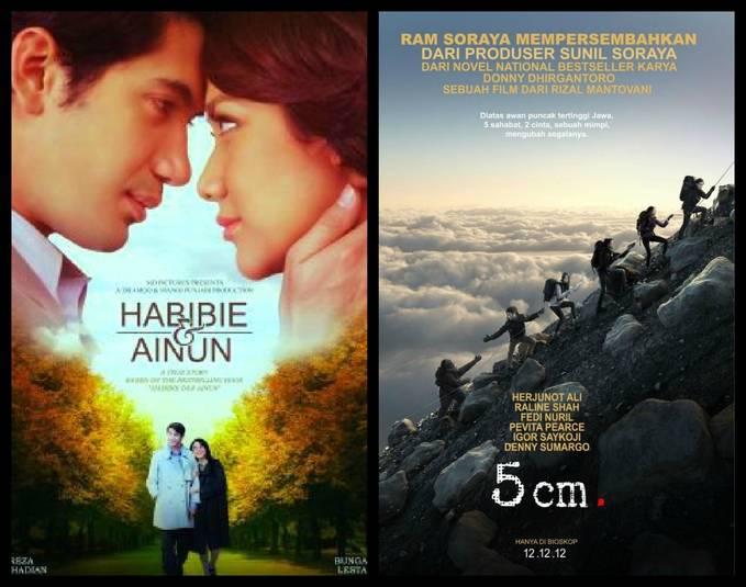 Lebih Seru mana? film Habibie&Ainun atau 5cm? Kalo saya 5cm :D !! Wownya dong kalo tau film ini..