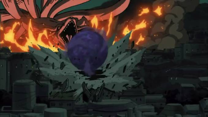 Naruto Di Lahirkan Dengan Selamat Oleh Khushina Dan Minato, Tetapi Kebahagiaan Tidak Berlangsung Lama,Tobi Berhasil Menculik Khushina Dan Membebas Kan Kyuubi Ekor Sembilan, Singkat Cerita Kyuubi Mengamuk Di Konoha