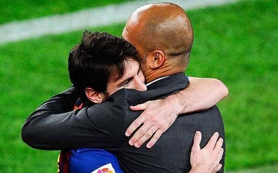 Ian Wright: Pep Guardiola Bisa Bawa Lionel Messi Ke Manchester City Ian Wright menilai satu-satunya pelatih yang dapat mengeluarkan Lionel Messi dari Barcelona adalah Pep Guardiola.