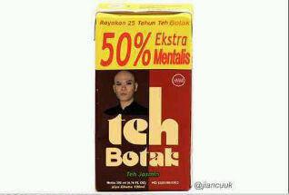 Teh Botak wkwkwk Follow @melkyhf