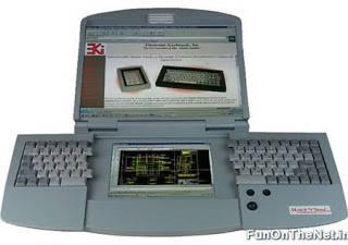 Hal yang terhebat dari Dual Screen ergonomis Split Portable Keyboard Notebook Personal Computer yang menakjubkan ini adalah bukan hanya karena fakta bahwa keyboard terbukanya memberikan pengguna komputer lebih banyak ruang agar pas untuk tanga