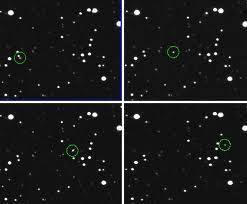Inilah kejadian unik yang dialami asteroid 2012 KT42, sebuah benda langit anggota tata surya berukuran mini (diameter 8 hanya 8 meter) pada akhir bulan Mei yang baru saja berlalu.WOW