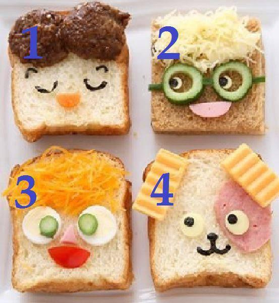 Lucu banget ya Roti ini .. guys , pilih mana ?? :D