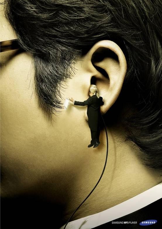 Iklan Samsung MP3 Player