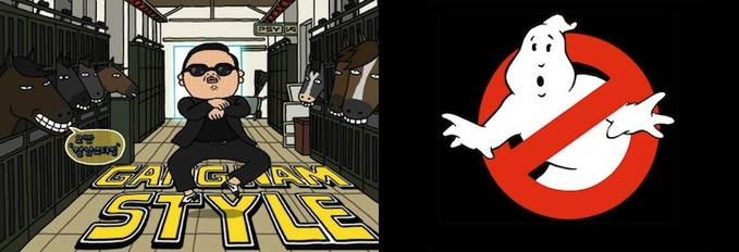 Psy VS GhostBusters yang suka WoW nya DoNg