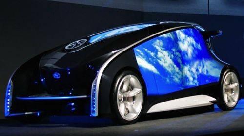 TOYOTA FUN VII sebuah mobil dari salah satu perusahaan ternama asal jepang yaitu TOYOTA yang meluncurkan sebuah konsep mobil masa depan yang sangat spektakuler. yang bergaya modern bersifat body LED layaknya Gadget IPhone dari produsen Apple. Y