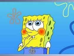 KLIK WOW maka dlm hitungan 3 spongebob yg ada digambar akan tertawa keras ,hahahaha Coba deh=D