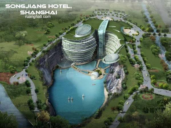 WAWW ... tempat ini luar biasaya ... bayangkan saja .. gunung yg begitu besar , di sulap menjadi hotel mewah .. ngga kebayang cara kerjanya gimana .. ?? pwndapat anda ??