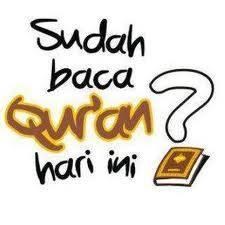 untuk yang islam kalau sudah baca al-quran klik WOW donk...