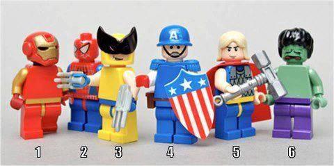 Super Hero MAna Yang Kamu Pilih ? KALO YANG UDaH MILIH KLIK WOW yah