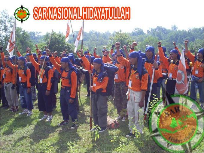 Pelatihan Tim Seach And Rescuer ( SAR ) Hidayatullah