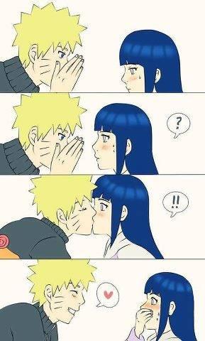 Naruto Berkata : Hinata Ada Hal Yang Paling Indah Di Dunia Ini | Hinata : Apa Itu Naruto | Naruto : Kamu mau tahu ? | Hinata : Emmmm(Sambil Malu) | Naruto : (Mencium Bibir Hinata) Itulah Hal Yang Paling Indah Dalam Hidupku, Hinata #CoCweet