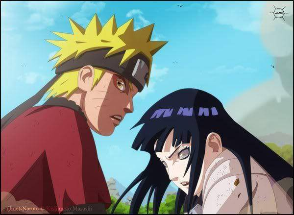 NARUTO (SAGE MODE) & HINATA VS PAIN NAGATO KALO ADA YANG INGAT INI KASIH WOW NYA YA?