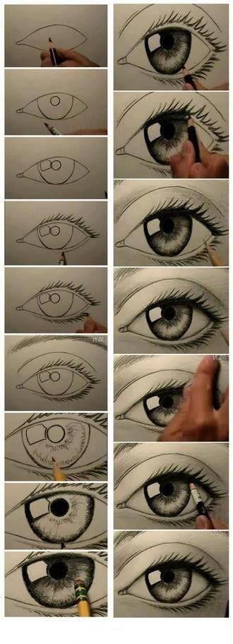 Ini Dia cara membuat mata Anime!