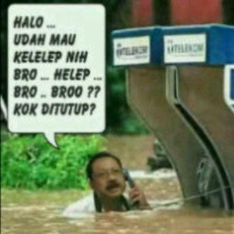 Banjir...!! Ada Yg Mw Nolongin Gak..?? Jngan Lupa WOW nya..