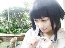 tokoh fiksi Hinata Hyuuga. Menurutku bagusan animenya :3 WOWnya yaa..