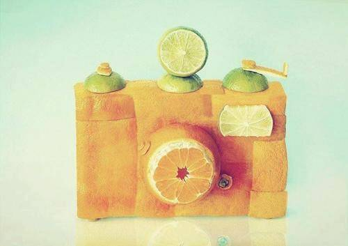 Orange Camera..