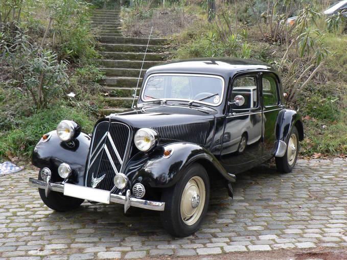 inilah mobil antik citroen stromber