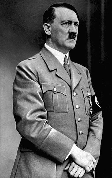 Adolf Hitler adalah seorang politisi Jerman dan ketua Partai Nazi kelahiran Austria. Ia menjabat sebagai Kanselir Jerman dan diktator Jerman Nazi.Hitler menjadi tokoh utama Jerman Nazi, Perang Dunia II di Eropa, dan Holocaust