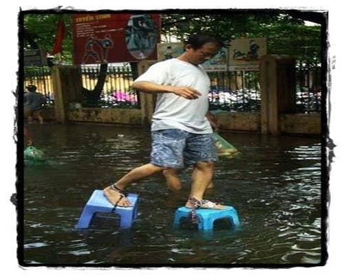 ide cemerlang saat banjir