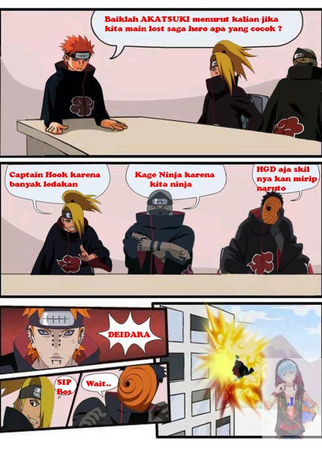 ninja zaman sekarang hobi main lost saga