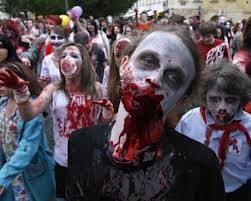 Zombie muncul dari pulau Haiti.Mereka adalah orang-orang yang hamper mati,dan kemudian dihidupkan kembali dari tubuh yang hamper mati oleh pendeta voodoo,dan digunakkan sebagai budak selama sisa hidup mereka yang menyedihkan. jangan lupa wow !