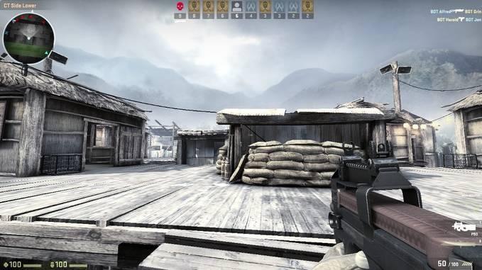 Pernah bermain counter strike ini ??? Counter Strike Global Offensive -My Pc