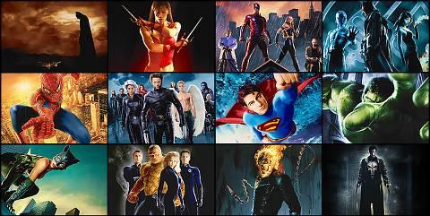 kalian pilih super hero yang mana?
