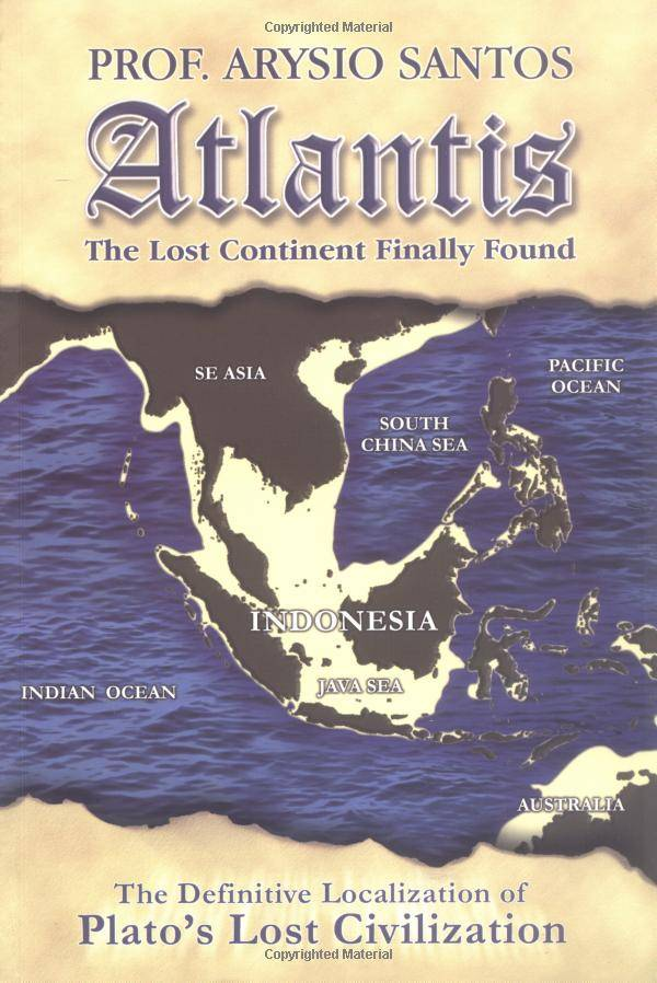a fictional history of the lost continent of atlantis