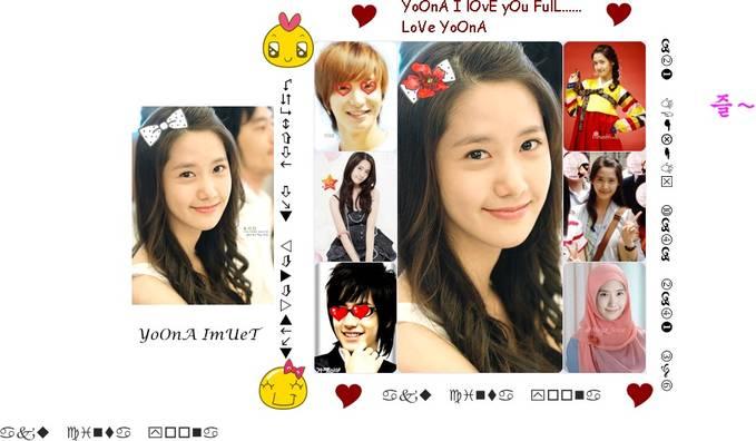 hahahahahhahhahahahaha..................... eh ! tapi YOONA cantik yah :) yOOna masuk kedalam !) besar artis korea pling cntik lho :) WOW ya buat fansnya yOONA