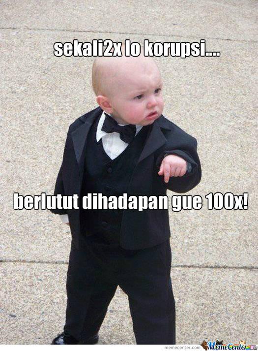jangan korupsi ya!,tahukah kamu?,sebenarnya jika kita koruptor,indonesia ini akan kacau,semua orang menjadi miskin :)