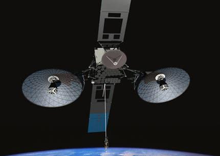 NASA (National Aeronoutics And Space Administration) akan meluncurkan satelit TDRS-K launch berjarak 22.300 mil dari bumi yang mempunyai tugas untuk melacak apakah ada kehidupan di planet Keplar 22-D