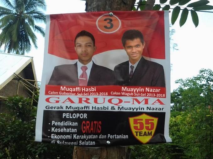 Calon Gubernur Sulawesi Selatan