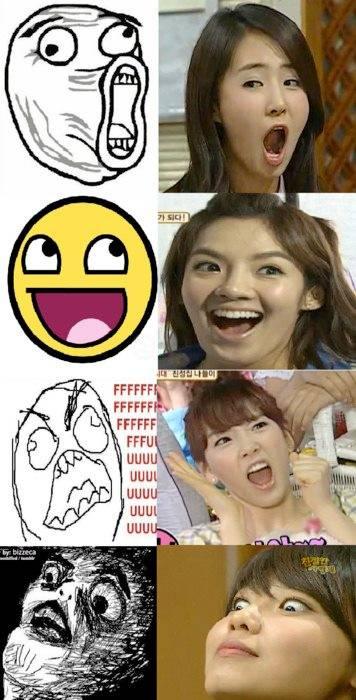 Wajah Wajah Member Girlband Korea GIRLS GENERATION Ini Sangat LUCu .. Yang Ketawa, Minta WOW nYa ya
