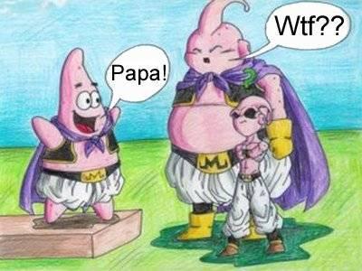 wahh Ternyata Patrik Masih 1 keluarga dengan Majinbooo... Wooww,,,,,