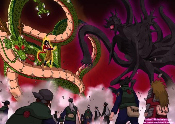 Goku akhirnya membantu Konoha yeeey. kalo gini lebih gampang menangnya nih :)