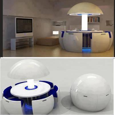 Ruang makan serba guna------> 2020 akan segera dipasarkan keseluruh dunia. Dengan harga yang fantastis yaitu $100,000. WOW jika kamu suka dengan gambar ini :)