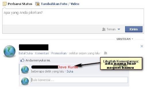 INGIN TAU NAMA LUAR NEGERI ANDA ?? ( Facebook ) Ingin tau nama luar negeri anda ?? ( Facebook ) Begini caranya : 1. WOW-kan dulu artikel ini 2. Ketik @[***:] 3. Isi *** dengan 3 angka kesukaan kamu 4. Klik ENTER !! Tara !!! siapa nama luar neg