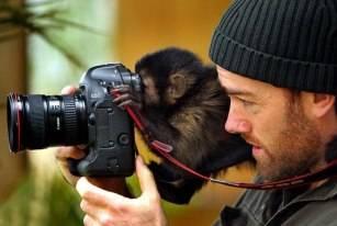 Monyet juga bisa kok jadi fotografi :P WOW jika kamu suka dengan gambar ini.