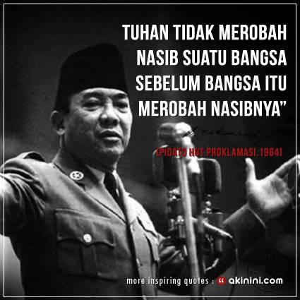 Kata Bijak Soekarno saat ...