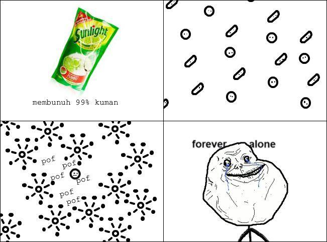 forever alone :D ..