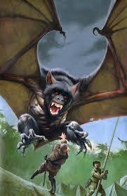 Ahool adalah sejenis kriptid terbang, diduga kelelawar raksasa, atau oleh laporan lainnya, pterosaurus hidup atau primata terbang. Seperti makhluk yang belum diketahui untuk ilmu pengetahuan dan tidak ada bukti objektif bahwa keberadaannya ada
