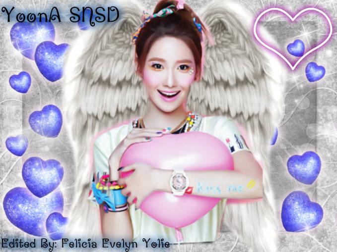 Editan Bidadari YoonA SNSD By: Me Yang Udah Liat, Klik Wow Ya :)