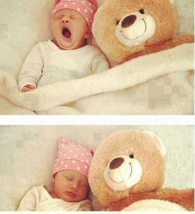 lucu banget bayi ini... >w