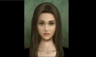 Lukisan ini dibuat oleh seorang gadis di jepang, konon, setelah dia menyelesaikan lukisan potret dirinya, lalu ia bunuh diri, yang tidak kalah serem, katanya kalau kita liat lukisan ini 5 MENIT dan klik W0W maka gambarnya bakal berubah.....