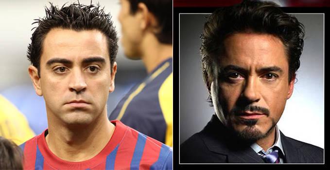 fakta! ternyata Toni Stark dalam film IRON MAN adalah Xavi hernandez, pemain berbakat dari Barcelona.