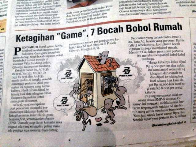 gara-gara kecandua game online 7 bocah maling zaman emang udah edan