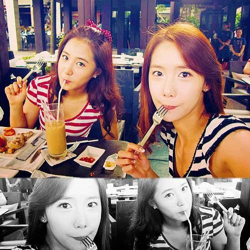 Yoona With Yuri,Sone Minta Wownya donk