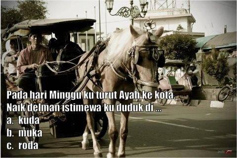 hayo sapa yg tau lagu ini? coba tebak lanjutan lagu ini apa!!! klik wow nanti kuda nya berjalan!!